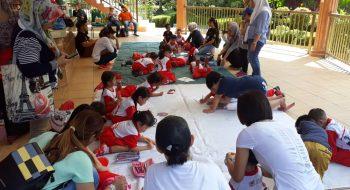 Colouring at Lok Kawi